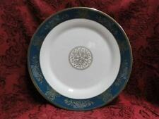 """Wedgwood Agincourt Blue & Gold, R4513, Blue Band: Dinner Plate (s), 10 7/8"""""""