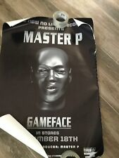 MASTER P puts on his GAME FACE 2001 Promo Poster Ad