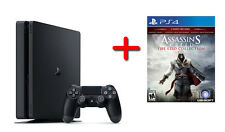 Sony PlayStation 4 Slim 500GB + Assassin's Creed The Ezio Collection Game NEW