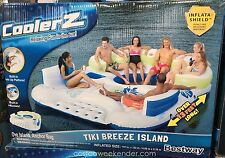 Bestway CoolerZ Inflatable 7 Person Tiki Breeze Floating Island HUGE 13.12 X 10.