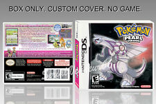NINTENDO DS : POKEMON PEARL VERSION. ENGLISH. COVER + ORIGINAL BOX. (NO GAME).