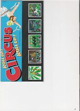 2002 ROYAL MAIL PRESENTATION PACK CIRCUS EUROPA MINT DECIMAL STAMPS