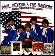 Evolution to Revolution: 5 Classic Albums * by Paul Revere, the Raiders (CD,...