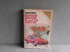 CHILTONS DATSON NISSAN Z AND ZX 1970-1984 REPAIR TUNE-UP GUIDE