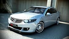 FRONT SPLITTER (TEXTURED) HONDA ACCORD MK 8 PRE-FACELIFT 2008-2010