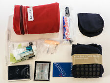 DELTA Airlines Elite Business First Class Flight Amenity Kit - RED BAG