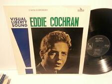 """eddie cochran""""c'mon everybody""""lp.hollande de 1963.liberty:lbyh1146.rare"""