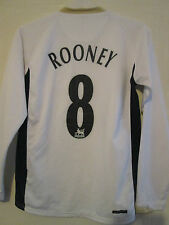 Manchester United 2006-2007 Rooney Away Football Shirt Small long sleeve /39572