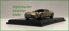 A.S.S NEU FRONTI-ART AVANSTYLE 1/87 ASTON MARTIN ONE 77 CHAMPAGNE GOLD OVP