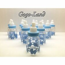 12,24,36 Fillable Bottles For Baby Shower Favors Blue Pink Boy,Girl