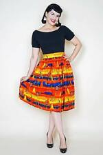 Miss Bamboo Rockabilly swing skirt S