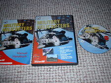✈️ MILITARY HELICOPTERS - Flight Simulator 2004 FS2002 / FS2004 ADD ON COMPLETE