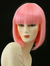 Medium Wigs Adorable China Doll Silky     Hot  Pink    CH 16