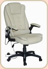 Cuir Luxueux Ordinateur étude bureau chaise avec 8 Mode Massage Le dernier