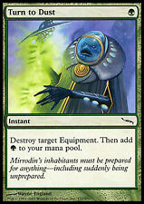 Turn to Dust x4 EX/NM Mirrodin  MTG Magic Cards Green Common