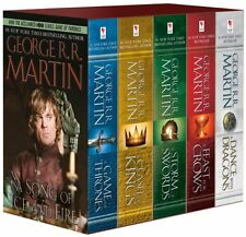 George R. R. Martin's A Game of Thrones 5-Book Boxed Set (Song of Ice and Fir...