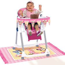 Disney Baby Minnie Mouse HIGH CHAIR DECORATING KIT 1st Birthday Party Supplies