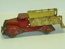 Vintage Marx Ice Truck, Pressed Steel Toy Vehicle