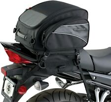 Nelson Rigg CL-1040-TP - Jumbo Motorcycle Tail Bag Luggage - Black