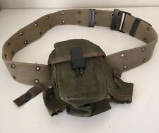 Vintage Military Canteen & Belt