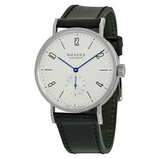 Nomos Tangomat White Dial Stainless Steel Mens Watch 601