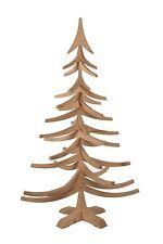 albero di Natale in legno di abete fatto in Italia tinta naturale woodidea 1 mt.
