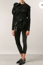 Junya Watanabe Black Sequined Pants NWT Size L Retail $1065