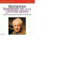Beethoven  Symphonies 2 & 4 Günter Wand and Ndr