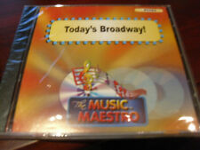 MUSIC MAESTRO KARAOKE 6282 TODAY'S BROADWAY CD+G OOP SEALED