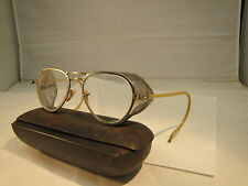 wilson vintage steampunk safety glasses with mesh sides