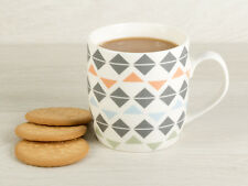 Everyday Home Geometric Diamond Barrel Mug