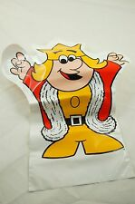 Vintage 1970s Burger King Childrens Plastic Hand Puppet- Unused