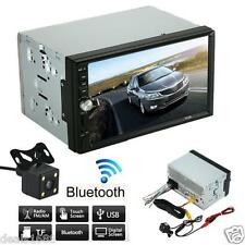 Bluetooth HD Car Stereo In-Dash Audio Video MP5/MP3 FM USB AUX + Parking Camera