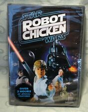 Star Wars Robot Chicken - Stop Motion Animation - DVD 2008 - Factory Sealed