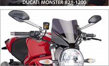 PUIG Ducati Monster 821 1200 1200S 2014/2015 dark tint motorcycle windscreen