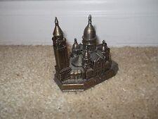 SACRE COEUR CATHEDRAL Building Miniature Cast Metal Souvenir Replica France
