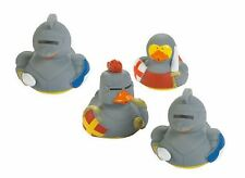 Set of 4 Medieval Rubber Ducks Duckys Duckies #161319 Random Styles Knight Armor