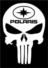 Polaris PUNISHER decal Switchback RZR Sportsman Ace Rush RMK Snowmobile ATV