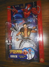 KRAVEN with Spider-Trap Bolo Gun! Spider-Man Classics! Toy Biz! RARE! Marvel