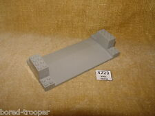 LEGO Parts: Support: 30399 Support 8 x 18 x 3 Roadway Base LIGHT GREY x1