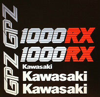 KAWASAKI  GPZ1000RX NINJA RESTORATION DECAL SET