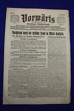 VORWÄRTS (15. Juni 1915): Durchbruch durch die russ. Front in Mittel-Galizien