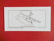 1954-60 Continental Kit Cars Instructions Bumper Jack Stowage--All Jack Stowage