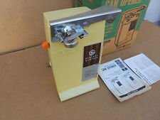 Vintage GE General Electric Automatic Can Opener EC32HR Harvest New In Box