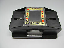 PAVILION AUTOMATIC CARD SHUFFLER 1 OR 2 DECKS DELUXE CASINO SHUFFLES COMPLETELY