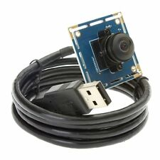 "HD 1080P PCB Board Camera 170 Degree Fisheye Lens 1/2.7"" CMOS OV2710 Module USB"