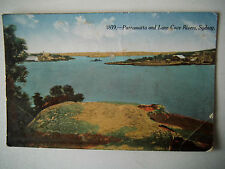 Parramatta & Lane Cove Rivers Sydney Old Postcard 1918 Kangaroo Series Sydney