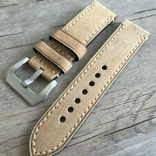 Leather strap in 24mm - Tan leather in 24/24mm for your Panerai