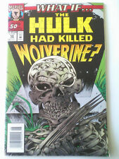 What if #50? Hulks kills Wolverine , Death of Wolverine #1,#3 Canada, #4