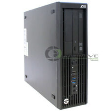 HP Z230 SFF Workstation D1P35AV Intel Xeon E3-1245v3 3.40 GHz 4GB 250GB HDD Win7